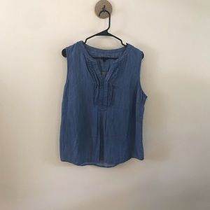 Talbots Denim Tank